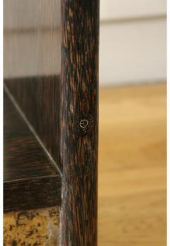 Eugene Printz Exceptional Palmwood Bookcase by Eug ne Printz Art Deco France 1930s - 911382