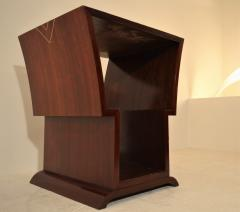 Eugene Printz Unique Art Deco Coffee Table with Decorative Inlay Attributed to Eugene Printz - 967923