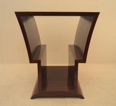 Eugene Printz Unique Art Deco Coffee Table with Decorative Inlay Attributed to Eugene Printz - 967924