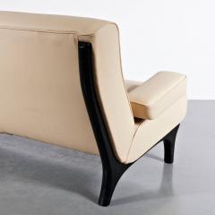 Eugenio Gerli 1960s Eugenio Gerli Leather Sofa for Tecno - 824240