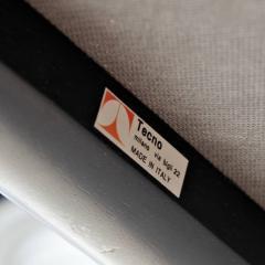 Eugenio Gerli 1960s Eugenio Gerli Leather Sofa for Tecno - 824248
