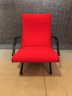 Eugenio Gerli Osvaldo Borsani P40 Upholstered Lounge chair by Osvaldo Borsani for Techno - 1017184