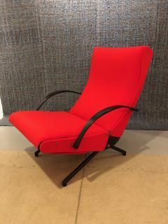 Eugenio Gerli Osvaldo Borsani P40 Upholstered Lounge chair by Osvaldo Borsani for Techno - 1017185
