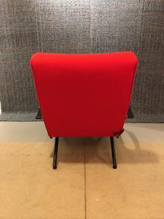Eugenio Gerli Osvaldo Borsani P40 Upholstered Lounge chair by Osvaldo Borsani for Techno - 1017187