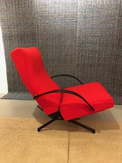 Eugenio Gerli Osvaldo Borsani P40 Upholstered Lounge chair by Osvaldo Borsani for Techno - 1017188