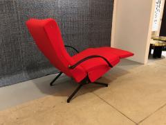 Eugenio Gerli Osvaldo Borsani P40 Upholstered Lounge chair by Osvaldo Borsani for Techno - 1017190