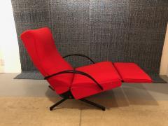 Eugenio Gerli Osvaldo Borsani P40 Upholstered Lounge chair by Osvaldo Borsani for Techno - 1017191