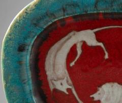 Eugenio Pattarino Italian Ceramic Art Platter by Eugenio Pattarino - 885019