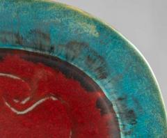 Eugenio Pattarino Italian Ceramic Art Platter by Eugenio Pattarino - 885021