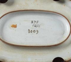 Eugenio Pattarino Italian Ceramic Art Platter by Eugenio Pattarino - 885022