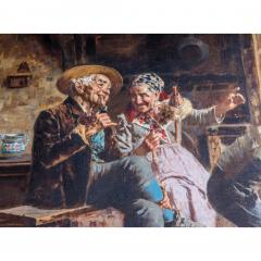 Eugenio Zampighi A Fine Italian Painting of the Baby s Bath by Eugenio Zampighi - 1434528