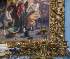 Eugenio Zampighi A Fine Italian Painting of the Baby s Bath by Eugenio Zampighi - 1434531