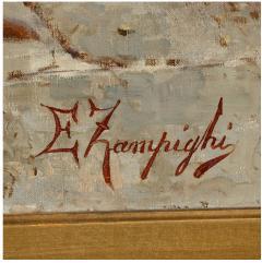 Eugenio Zampighi A Fine Zampighi Oil Painting of a Tavern Scene - 1471643