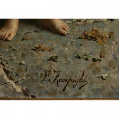 Eugenio Zampighi Fine Painting depicting an Italian Family - 1441275