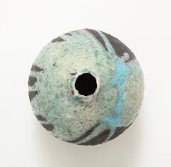 European Mid Century Ceramic Vase Netherlands 1950 60 signed - 2097127