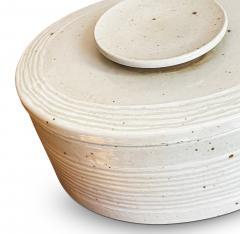 Eva St hr Nielsen Lidded Stoneware Box by Eva Staehr Nielsen for Royal Copenhagen - 1918745