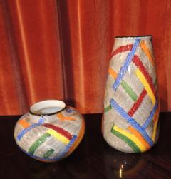 Eva Zeisel Pair of Art Deco Ceramic Vases by Eva Zeisel - 1492545