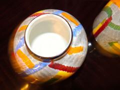 Eva Zeisel Pair of Art Deco Ceramic Vases by Eva Zeisel - 1492546