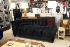 Evan Lobel Lobel Originals Box Tufted Chaise Made to Order - 594247