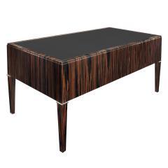 Evan Lobel Lobel Originals Desk in Macassar Ebony with Leather Top Made to Order - 1543510