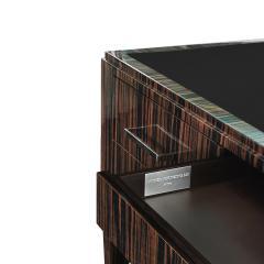 Evan Lobel Lobel Originals Desk in Macassar Ebony with Leather Top Made to Order - 1543514