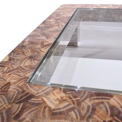 Evan Lobel Lobel Originals Nautilus Coffee Table In Lacquered Shells and Steel Sabots - 1171521