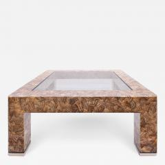Evan Lobel Lobel Originals Nautilus Coffee Table In Lacquered Shells and Steel Sabots - 1172832