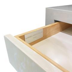 Evan Lobel Lobel Originals Pair of Pearl Front Bedside Tables  - 1600523