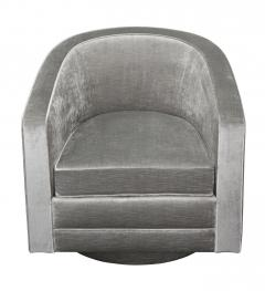 Evan Lobel Swiveling Sutton Lounge Chair by Evan Lobel for Lobel Originals - 162846