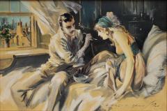 Everett Shinn Hearts Unreasoning by Sarah Bernhardt The First of Six Romances - 1507515