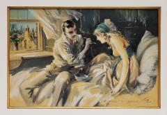 Everett Shinn Hearts Unreasoning by Sarah Bernhardt The First of Six Romances - 1507516