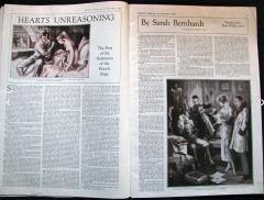 Everett Shinn Hearts Unreasoning by Sarah Bernhardt The First of Six Romances - 1507520