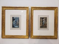 Everett Shinn Pair of 1939 Watercolors by American artist Everett Shinn - 1068682