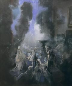 Everett Shinn The Fountain - 909085