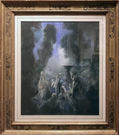 Everett Shinn The Fountain - 909086