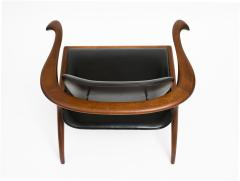 Evert Sodergren Early and Rare Evert Sodergren Sculptured Studio Craft Chair - 196447