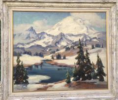 Evylena Nunn Miller Snow Capped Mountains - 1643041
