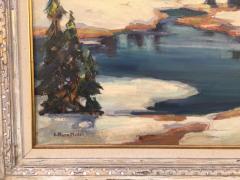 Evylena Nunn Miller Snow Capped Mountains - 1643042
