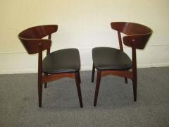 Excellent Pair of Danish Modern Bentwood Teak Dining Chair - 1843403