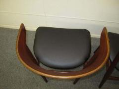 Excellent Pair of Danish Modern Bentwood Teak Dining Chair - 1843406