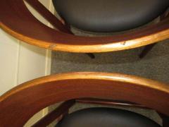 Excellent Pair of Danish Modern Bentwood Teak Dining Chair - 1843407