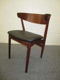 Excellent Pair of Danish Modern Bentwood Teak Dining Chair - 1843410