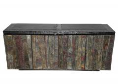 Exceptional 1962 Paul Evans Deep Relief Cabinet - 521626