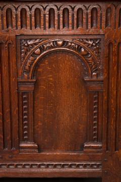 Exceptional Elizabeth I Carved Oak Coffer - 1012130
