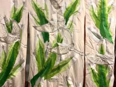 Exceptional Embroidered Brocade Vintage Japanese Ceremonial Kimono - 1201190