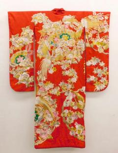 Exceptional Embroidered Japanese Ceremonial Kimono - 1309876