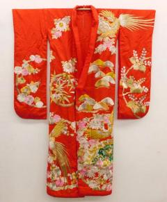Exceptional Embroidered Japanese Ceremonial Kimono - 1309877