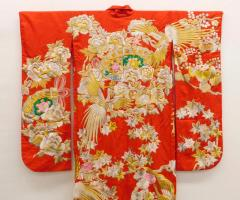 Exceptional Embroidered Japanese Ceremonial Kimono - 1309878