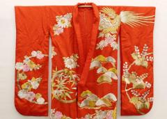 Exceptional Embroidered Japanese Ceremonial Kimono - 1309880
