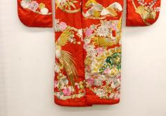 Exceptional Embroidered Japanese Ceremonial Kimono - 1309881
